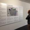 Mapa informativo sobre as etnias indígenas representadas na exposição