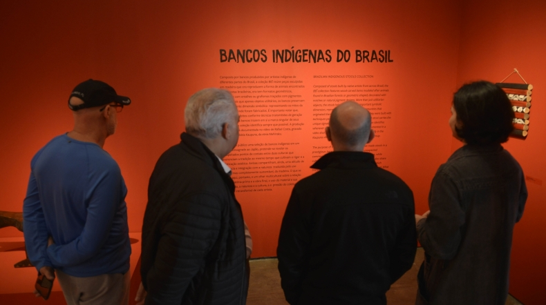 Últimos Dias! Visite a Exposição Bancos Indígenas do Brasil no Pavilhão Japonês. Até o dia 26 de agosto.