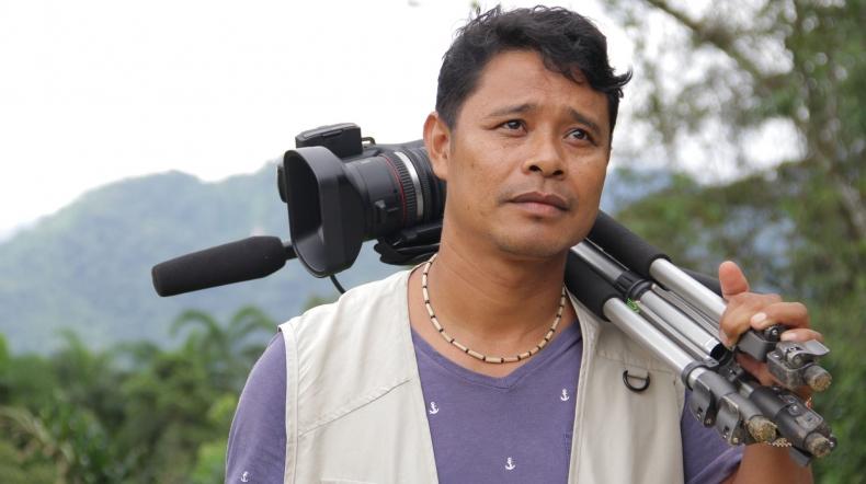Roda de conversa com cineasta indígena da etnia Guarani Nhandewa